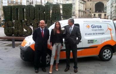 Presentación de coches eléctricos de Giroa