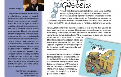 Noticias desde el Triforio nº3 - Fundación Catedral Santa María