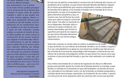 Noticias desde el Triforio nº4 - Fundación Catedral Santa María