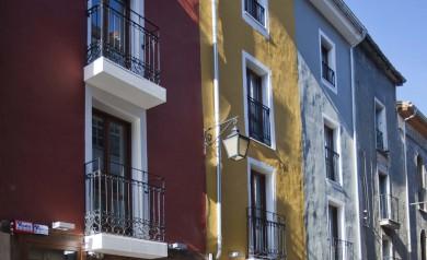 fachada del albergue